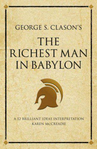 Book Cover Review The Richest Man in Babylon